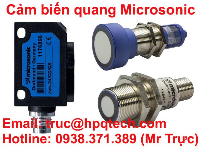 Nhà phân phối Microsonic sensor