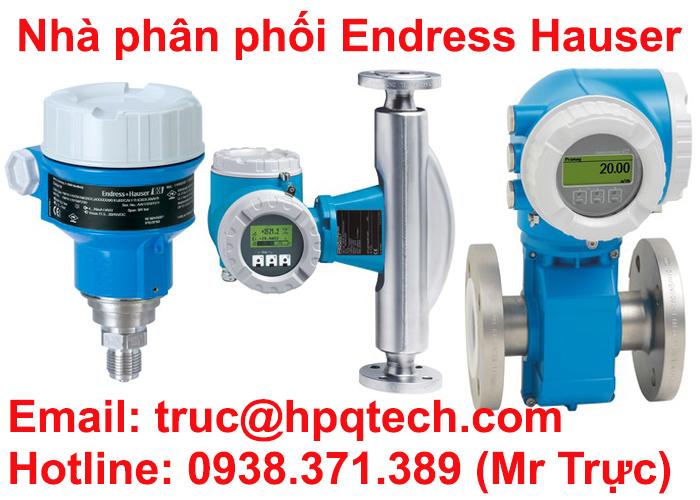 Phân phối Endress+Hauser Việt Nam